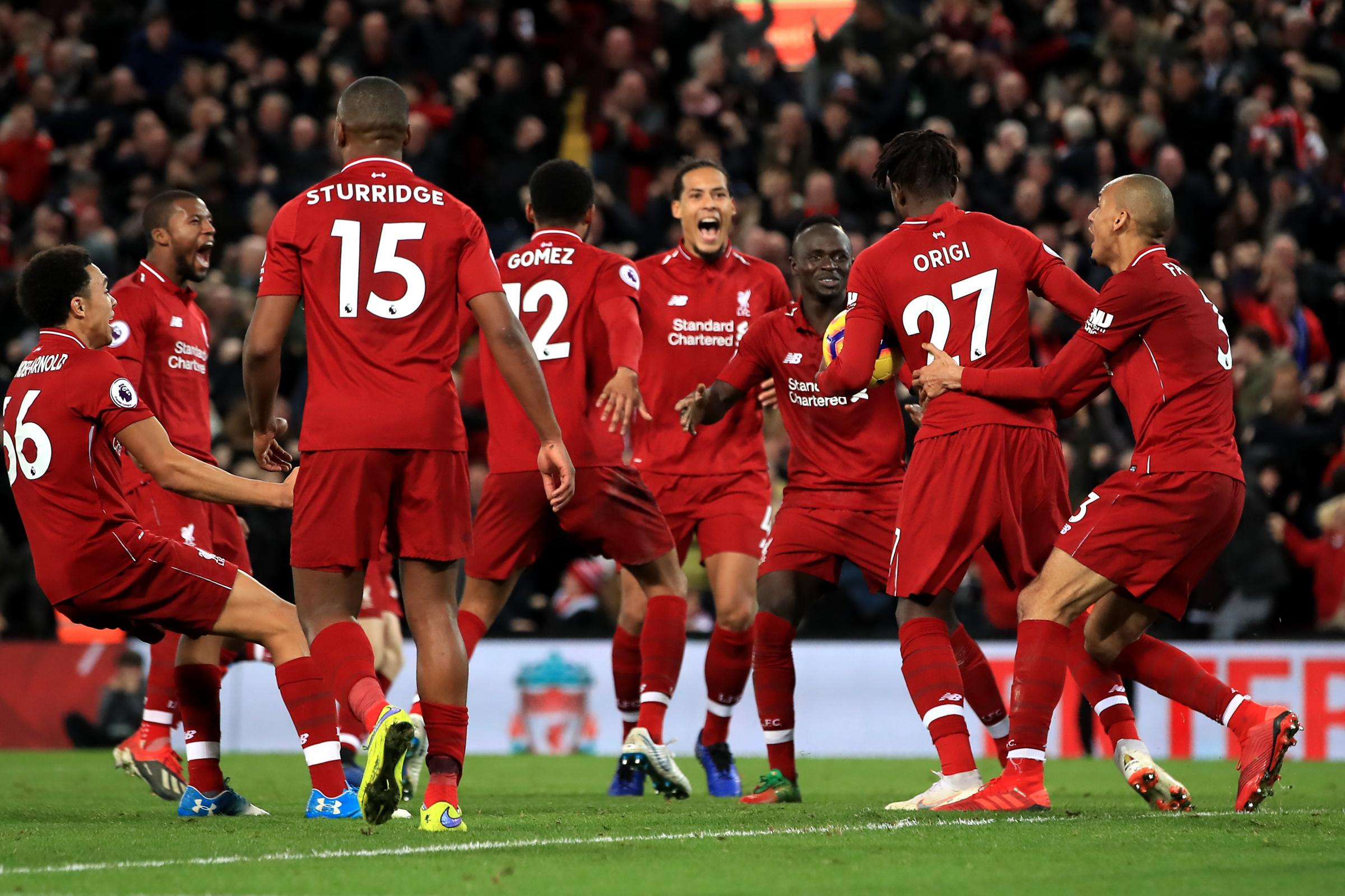 Klopp charged over celebrations after Liverpool's derby win