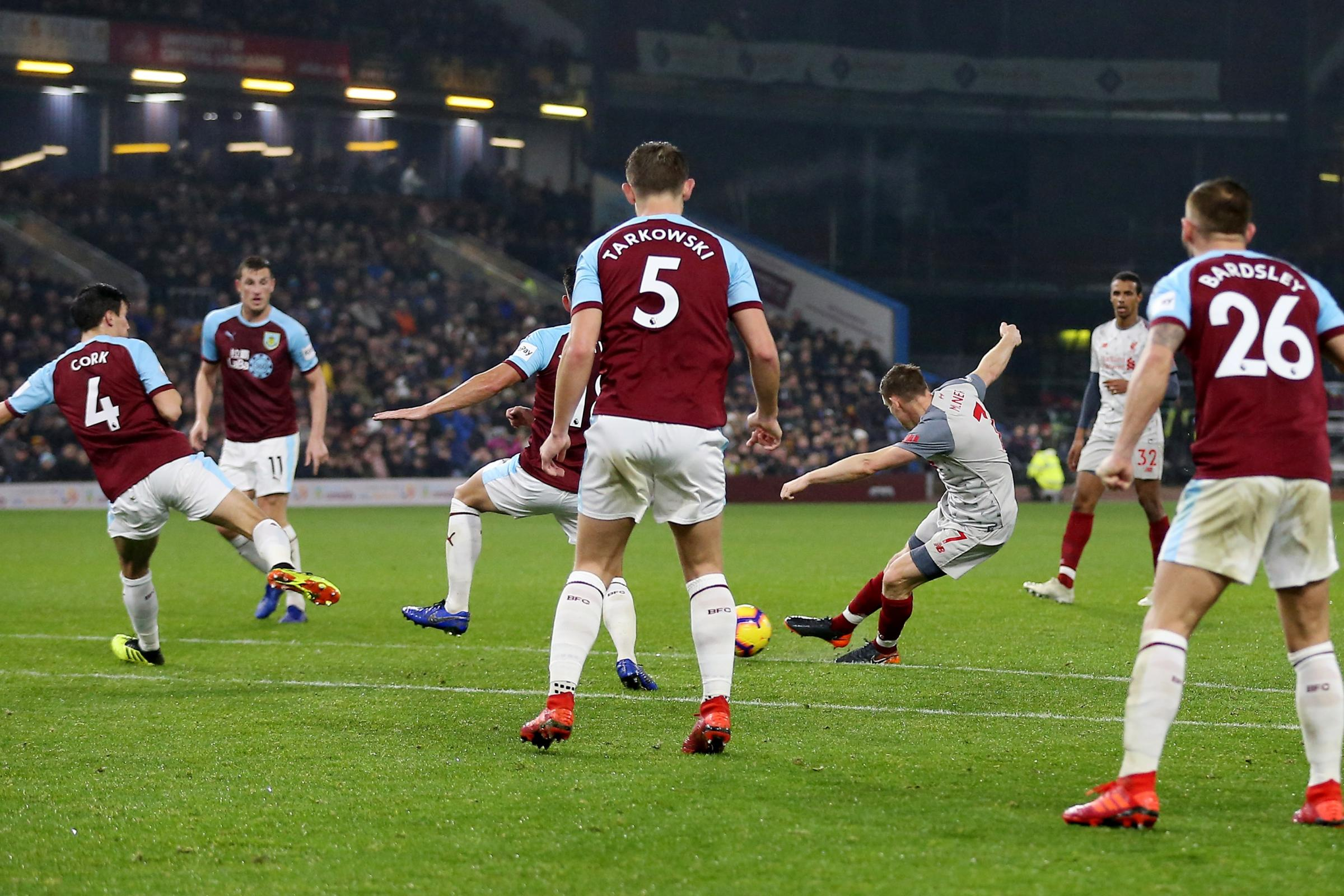 Burnley 1 Liverpool 3: Firmino and Shaqiri complete comeback